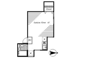 パークハウスF1階Fの間取り画像