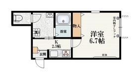 富士見台駅 徒歩4分1階Fの間取り画像