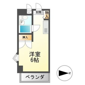 TOMBOY2階Fの間取り画像