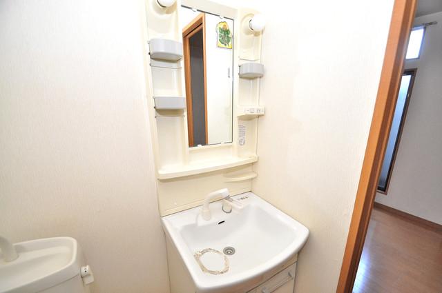 アドバンス俊徳 人気の独立洗面所にはうれしいシャンプードレッサー完備です。
