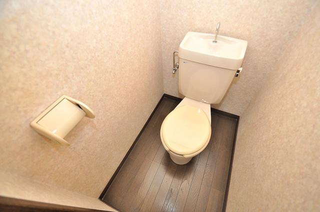 大宝小阪ヴィラデステ スタンダードなトイレは清潔感があって、リラックス出来ます。
