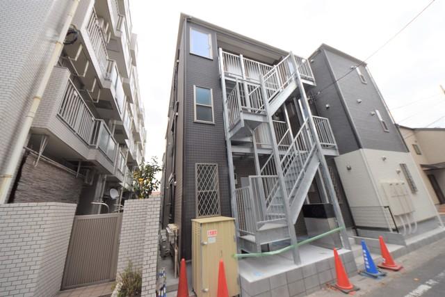 仮松が枝町新築アパート外観