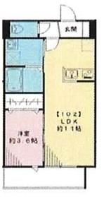 (仮称)エルメゾン皿沼1階Fの間取り画像