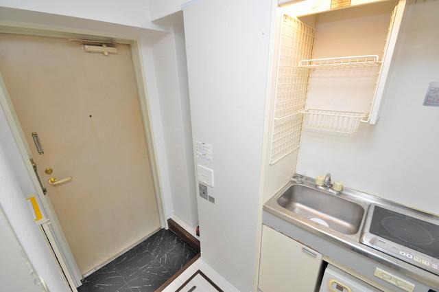 サンパレス布施 電気温水器もついてます。経済的に生活できますね。