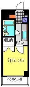 ポートKATAYAMA1階Fの間取り画像