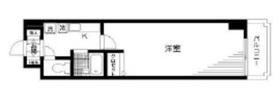 秋葉原駅 徒歩3分2階Fの間取り画像