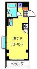 綱島駅 徒歩7分1階Fの間取り画像