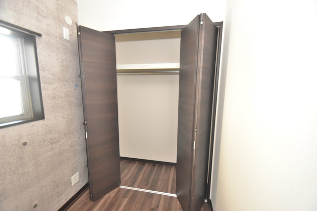ラージヒル長瀬EAST もちろん収納スペースも確保。いたれりつくせりのお部屋です。