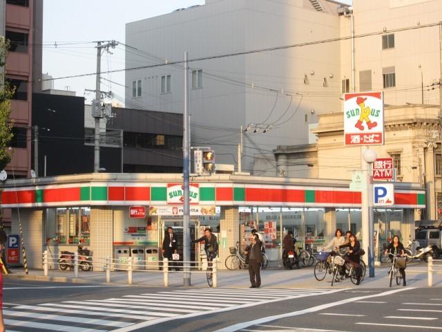 サンクス大阪福島駅前店
