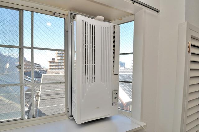 大宝菱屋西CTスクエア 最初からエアコンが付いているなんてお得ですね