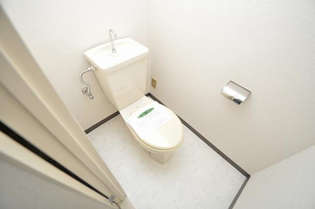 ファミーユ和喜 スタンダードなトイレは清潔感があって、リラックス出来ます。