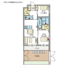 ヘーベルVillage世田谷桜丘1階Fの間取り画像
