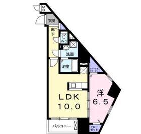 アルボル リオ Ⅱ8階Fの間取り画像
