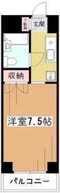 メゾン斉藤3階Fの間取り画像