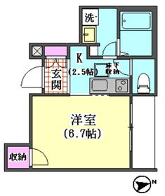 仲六郷2丁目シャーメゾン 101号室