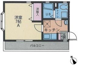 J-ASUKA(ジェーアスカ)3階Fの間取り画像