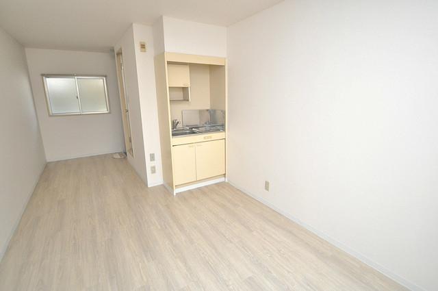 ベルハイム俊徳道 シンプルな単身さん向きのマンションです。