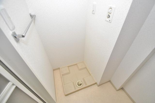 コート グランシャリオ 室内に洗濯機置き場があれば雨の日でも安心ですね。