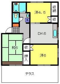 保土ヶ谷駅 バス15分「ソニー研究所裏停」徒歩1分1階Fの間取り画像