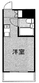 日吉駅 徒歩8分3階Fの間取り画像
