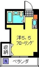 ボーテ日吉SUN2階Fの間取り画像