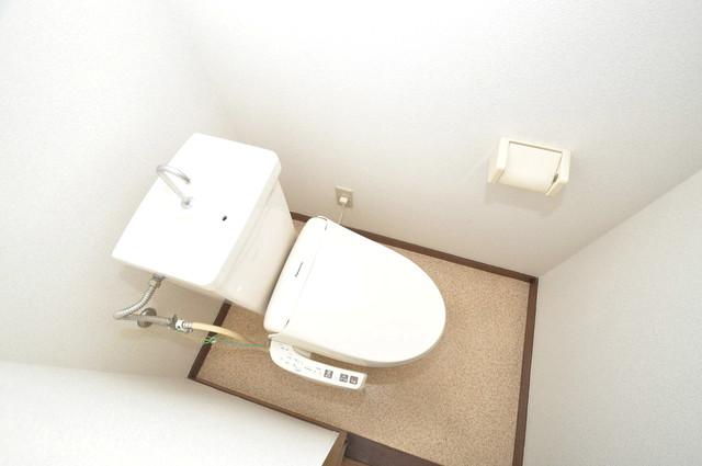 クリスタルアーク スタンダードなトイレは清潔感があって、リラックス出来ます。