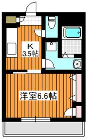 グランシャリオan2階Fの間取り画像
