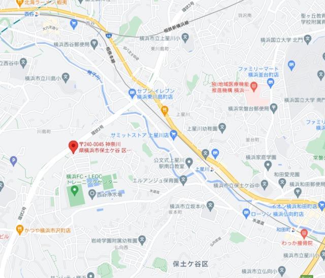 横浜市保土ケ谷区川島町戸建案内図