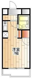読売ランド前駅 徒歩15分2階Fの間取り画像