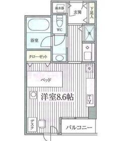 コンフォート荻窪3階Fの間取り画像
