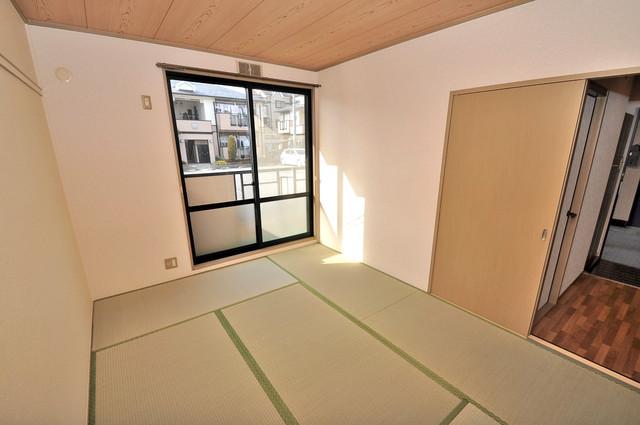 サンビレッジ・ラポール もうひとつのくつろぎの空間、和室も忘れてません。
