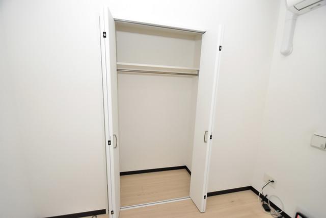 U-ro北巽 もちろん収納スペースも確保。いたれりつくせりのお部屋です。