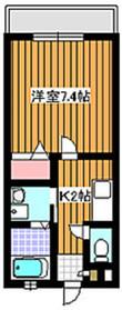 成増駅 徒歩11分2階Fの間取り画像