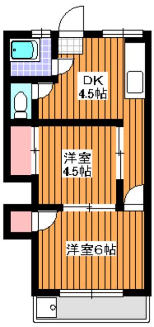 地下鉄成増駅 徒歩2分間取図