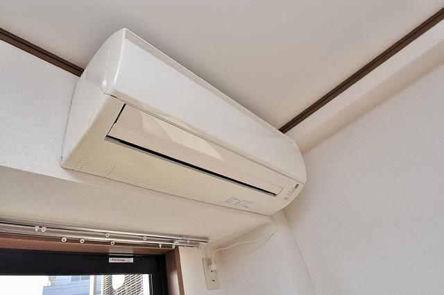 エムズコンフォート エアコンが最初からついているなんて、本当に助かりますね。
