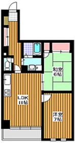 ヒルコートエミネンス2階Fの間取り画像