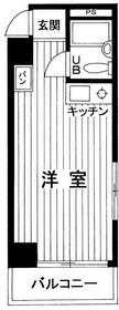 パークサイド日本橋6階Fの間取り画像