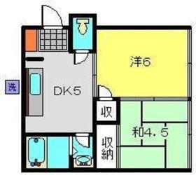 羽沢横浜国大駅 徒歩27分1階Fの間取り画像