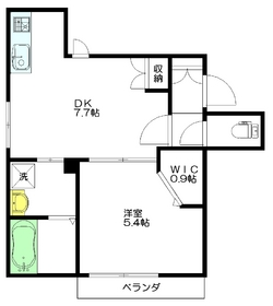 メゾン カイセイ3階Fの間取り画像