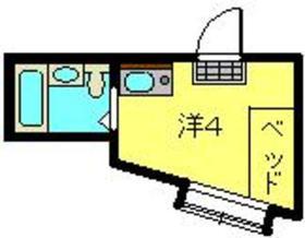 ガーデンハイムII2階Fの間取り画像