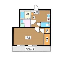 サンシャイン・バレー3階Fの間取り画像