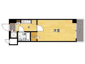 ラ・レジダンス・ド・福岡県庁前 : 7階間取図