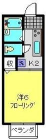 横浜駅 徒歩18分1階Fの間取り画像