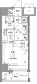 尻手駅 徒歩31分8階Fの間取り画像