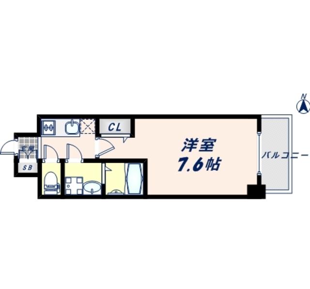 14階の間取り図