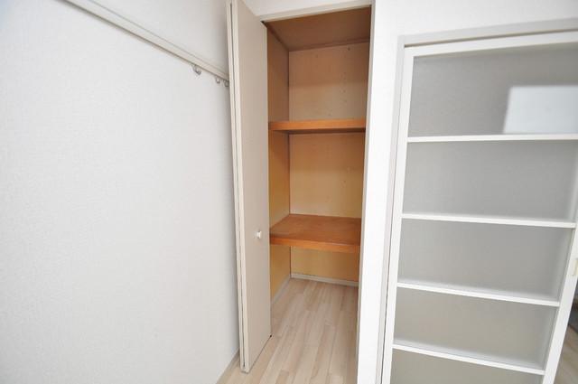 イワタハイツ もちろん収納スペースも確保。お部屋がスッキリ片付きますね。