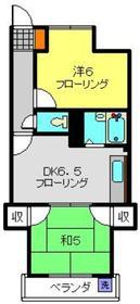 メゾン・マーサ2階Fの間取り画像