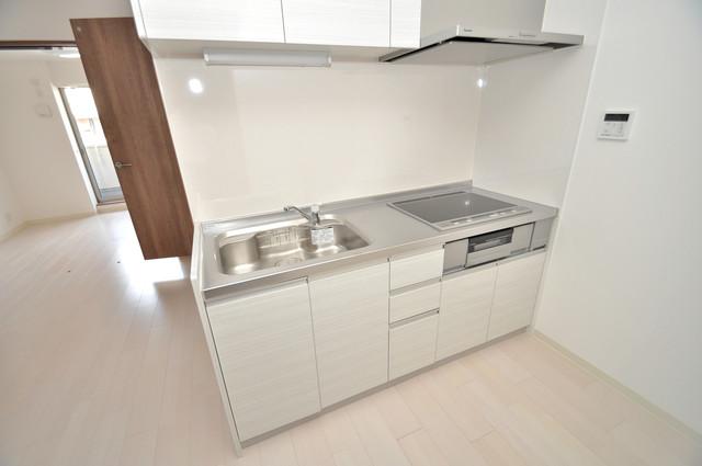 クリエオーレ巽南 お料理好きにはうれしい設備。豪華なシステムキッチンですよ。