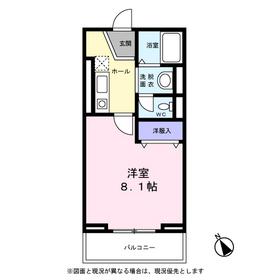 Casa Alex2階Fの間取り画像
