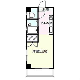 エスポワール3階Fの間取り画像